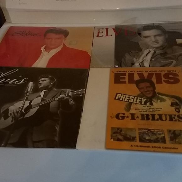 Four new Elvis Presley 16 month calendars